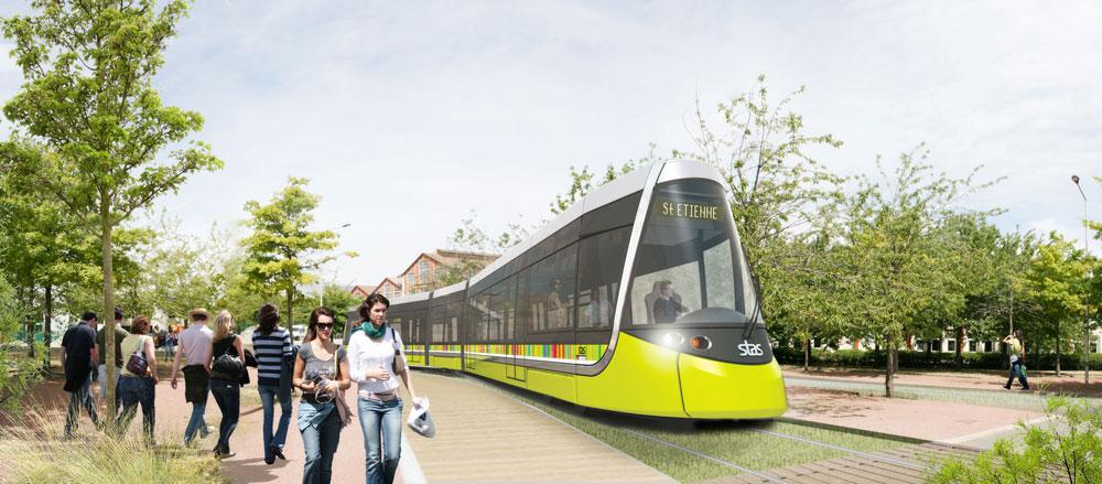 Atelier Des Vergers Architectes Ao Remport 233 La Troisi 232 Me Ligne De Tram De Saint Etienne